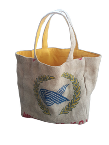 Rice & Carry Jute Strandtasche