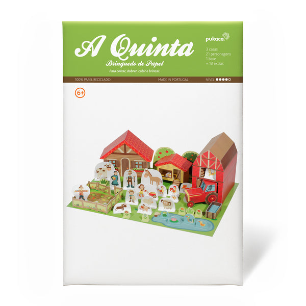 Brinquedo de papel - A quinta // The Farm Paper Toy