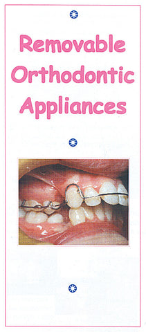 LEAFLET: REMOVABLE ORTHO APPLIANCE PK/100