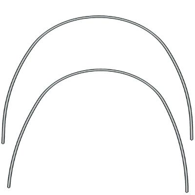 EUROFORM STAINLESS STEEL ARCHWIRES