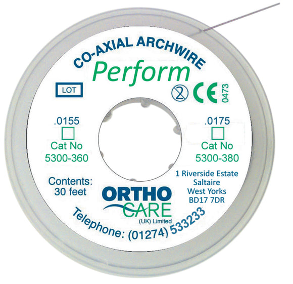 PERFORM COAXIAL ARCHWIRES