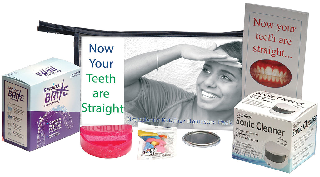 ORTHODONTIC RETAINER HOMECARE PACK