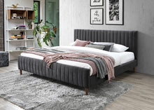 Load image into Gallery viewer, 2 Colours - Hana Low-Profile Platform Bed