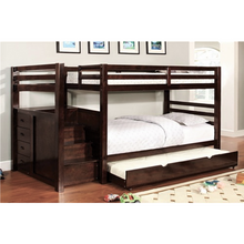 Load image into Gallery viewer, Briana Staircase Wood Bunk Bed