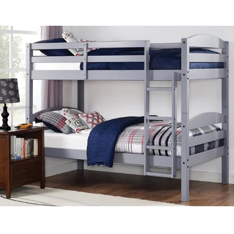 3 Colours - Harper Twin over Twin Wood Bunk Bed