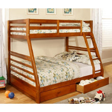 Load image into Gallery viewer, 4 Colours - 2 Drawers Bonus - Dakota Twin over Double Wood Bunk Bed