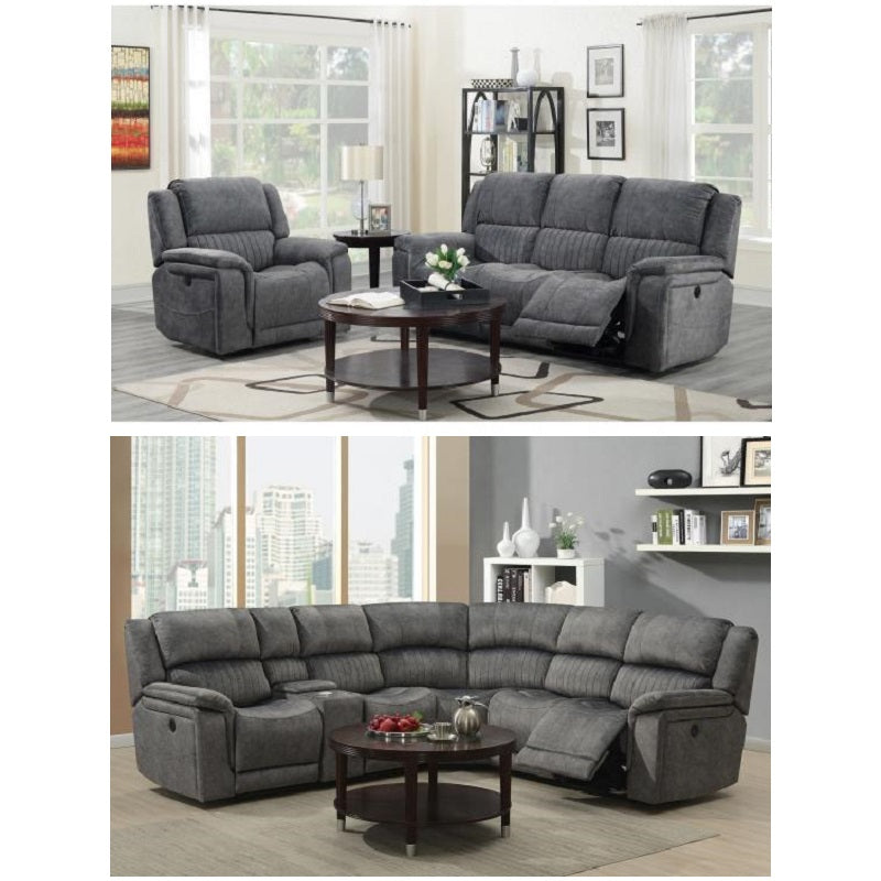 Denzel Power Reclining Sofa Sectional