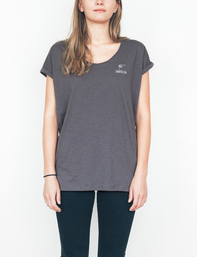 Dandelion Grey T-Shirt - Women
