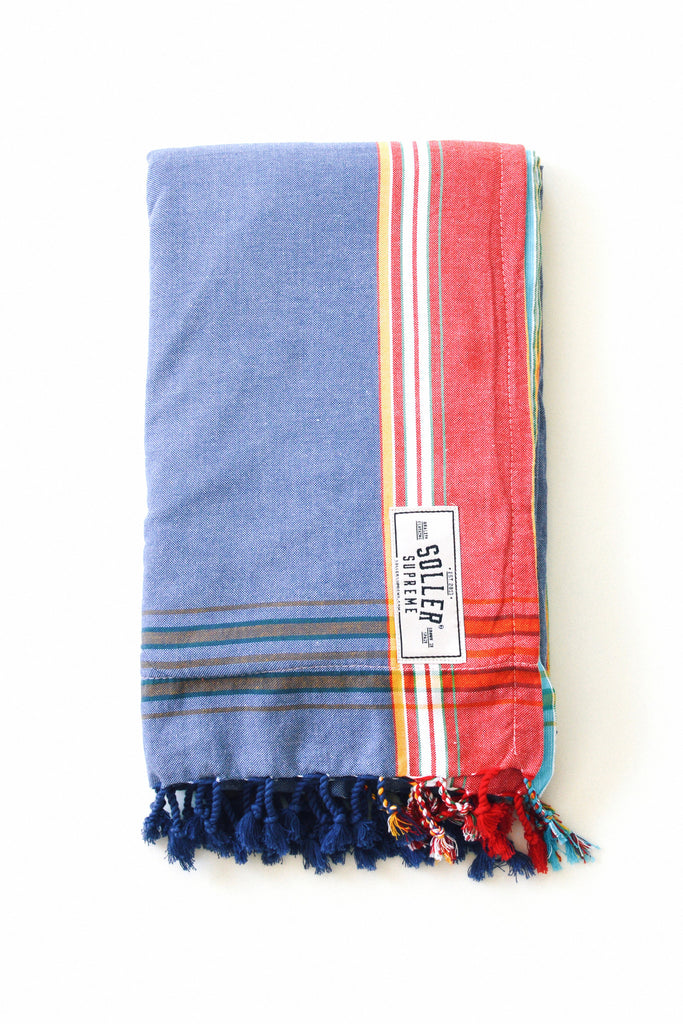Denim Beach Towel