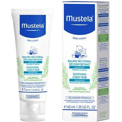 Mustela - Soothing Chest Rub - 40ml