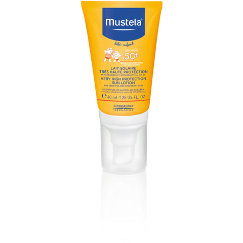 Mustela - Very High protection SUN lotion SPF50+ 40ml