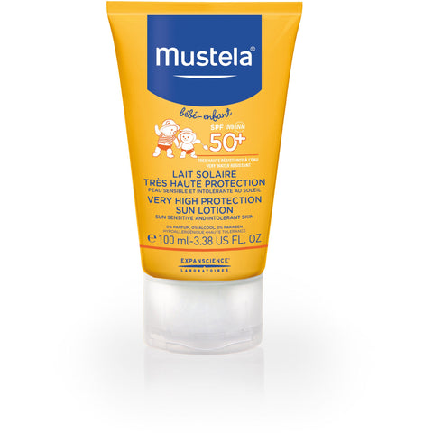 Mustela - Very High protection SUN lotion SPF50+ 100ml