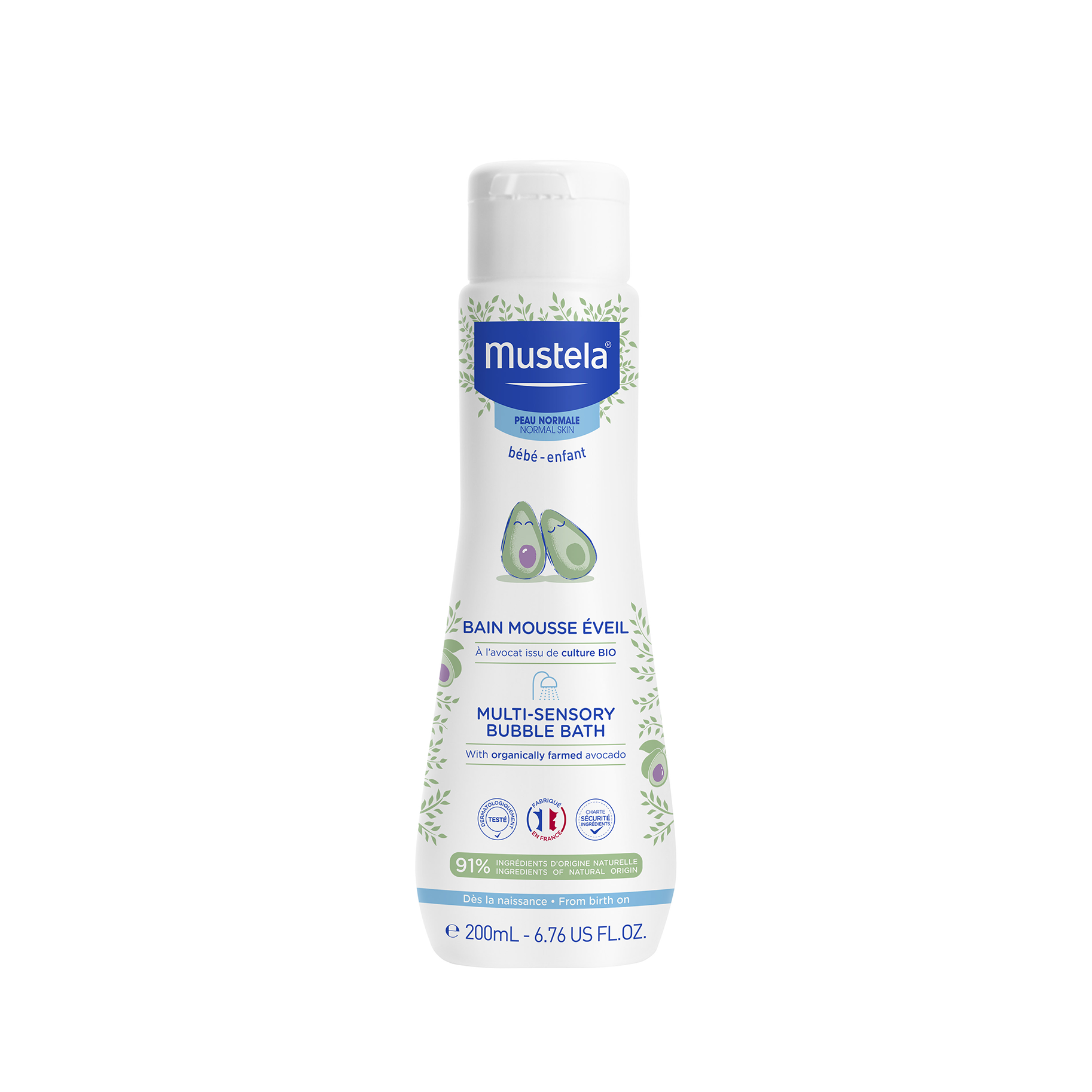 MUSTELA MULTISENSORY BUBBLEBATH - 200ml