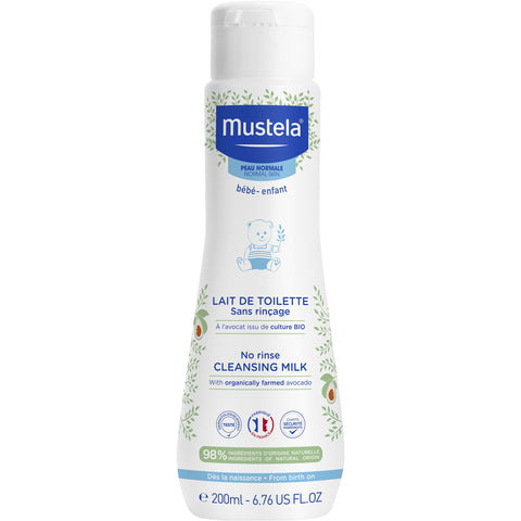 Mustela - No rinse Cleansing Milk - 200ml
