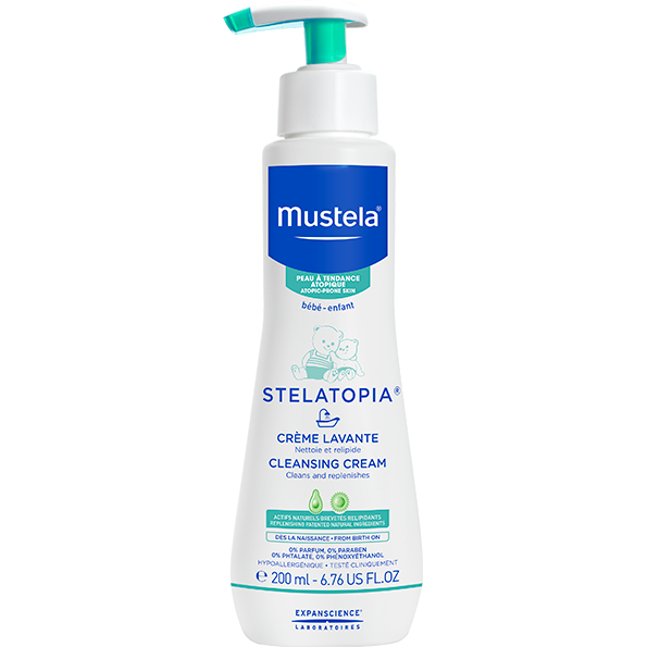 Mustela - Stelatopia Cleansing Cream - 200ml