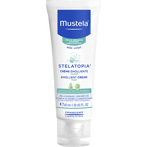 Mustela - Stelatopia Emollient Cream FACE - 40ml