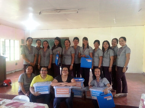 Teacher Support in Dumarao Central School, Capiz