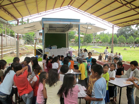 Jeepneed version 1 in Alegria Central School, Sarangani