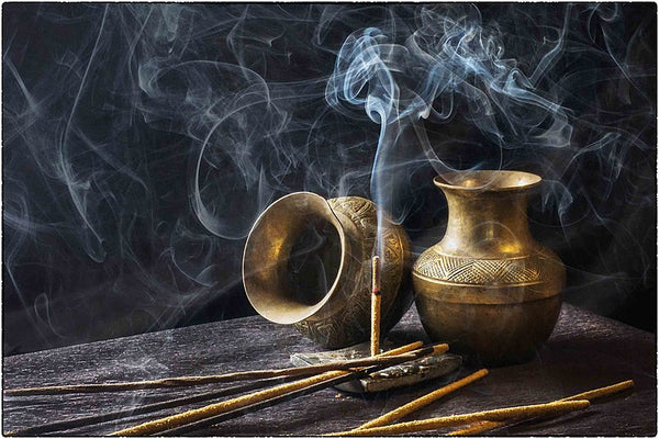Incense means burn and has Latin origins. Incense burners have been found in the Indus Civilization