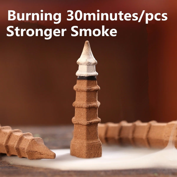 30 Minutes Tower Backflow Jumbo Incense Cones