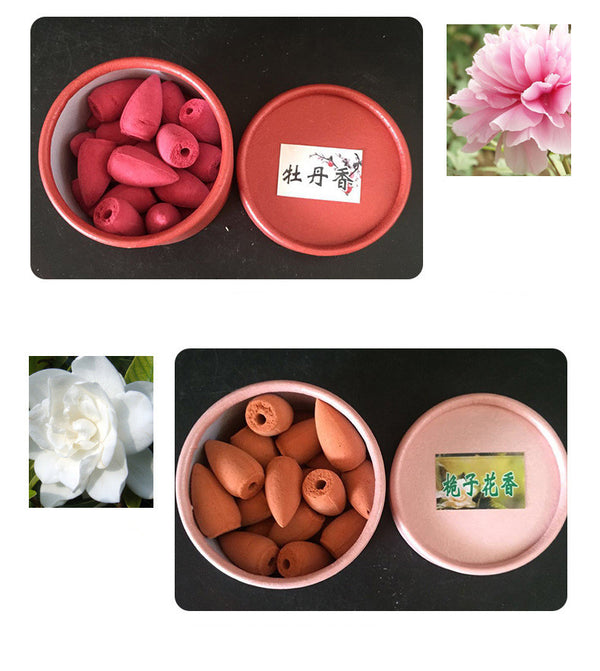25Pcs/Box Backflow Incense Cones