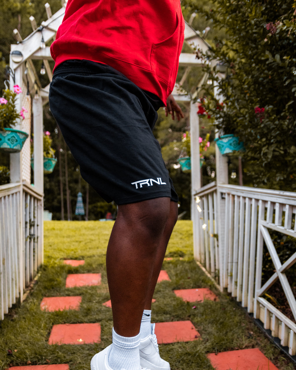 TRNL Shorts Black/White