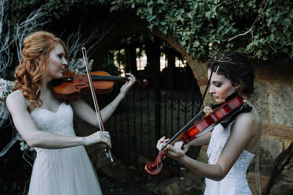 Madelin and Mckenzie from WA philarmonic orchestra