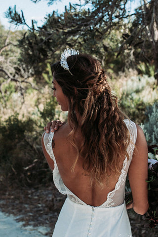 Wedding hair by Hair by Tanya