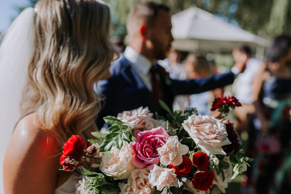 Bridal Bouquet by Rose and Bud - perth western australia