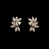 Bridal earrings- TWILIGHT CRYSTAL STUDS BY STEPHANIE BROWNE