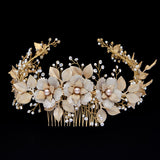 Bridal headpieces - Fiorentina by Stephanie Browne - Kezani Jewellery - 2