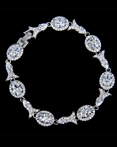 Bridal bracelet - Alexandra by Stephanie Browne - Kezani Jewellery - 1