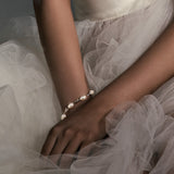 Bridal bracelet - Silk pearl by Stephanie Browne - Kezani Jewellery - 2