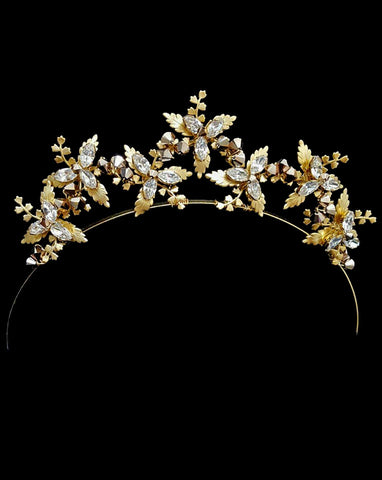 bridal headpiece - Star crown - 'We are the Stars' small by Kezani