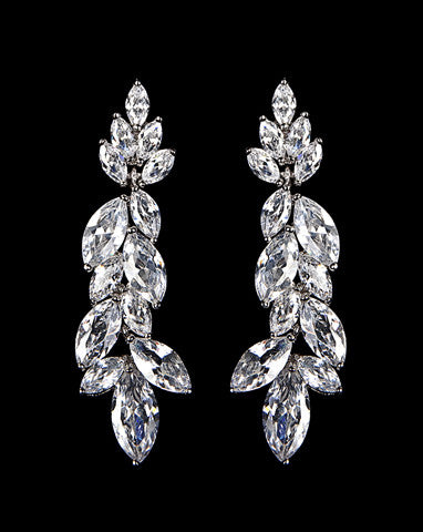 Bridal earrings - Allure by Stephanie Browne - Kezani Jewellery