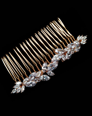 Bridal headpieces - Allure ll comb by Stephanie Browne