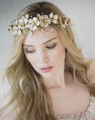 Bridal headpieces - Fiorentina by Stephanie Browne