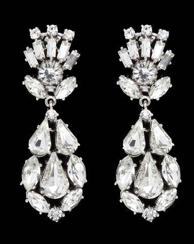 Bridal earrings - Viva by Stephanie Browne - Kezani Jewellery
