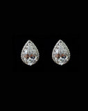 Bridal earrings - Mary crystal studs by Stephanie Browne - Kezani Jewellery - 1
