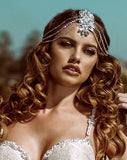 Bridal headpiece - Bohemian headjewellery  - Allegra by Kezani