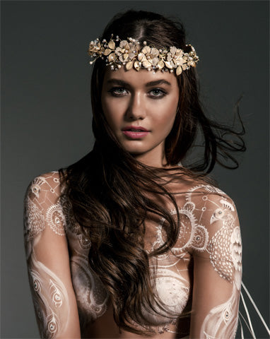 SALE - Bridal headpieces - Fiorentina by Stephanie Browne