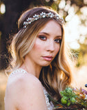 wedding headpiece - tiivel worn as a crown - by kezani australia2