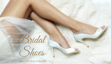 website for Georgie's bridal shoes