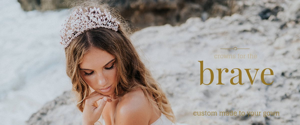 perth bridal crowns - custom made at Kezani
