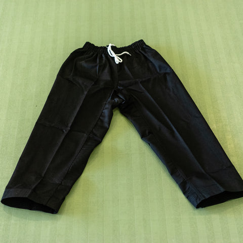 Black Martial Arts Pants