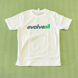 White EvolveAll Tee