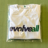 EvolveAll Rash Guard - White