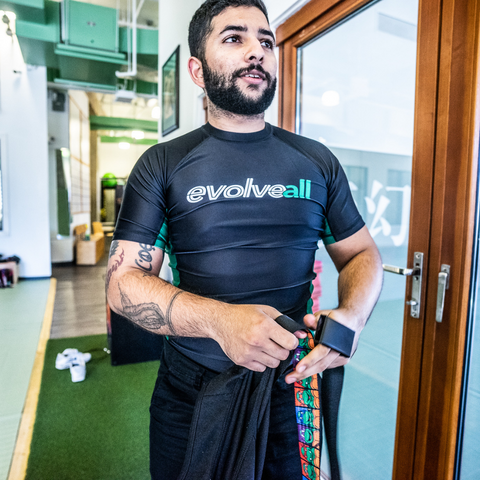 EvolveAll Rash Guard - Black