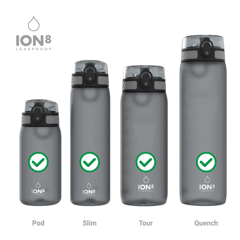 Ion8 Leak Proof Replacement Water Bottle Seals, Silicon, Transparent, One Size