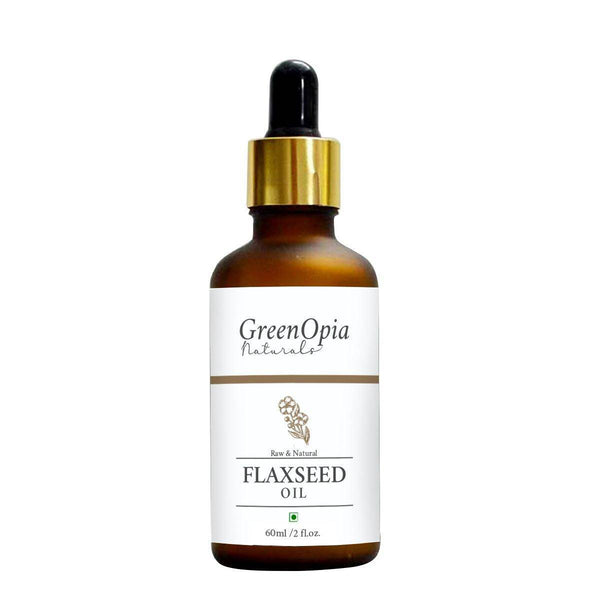 Pure Flax Seed Oil - GreenOpia